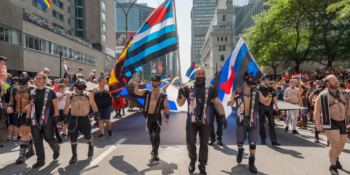 Leather men and pride parade: Join the Master/slave Lifestyle