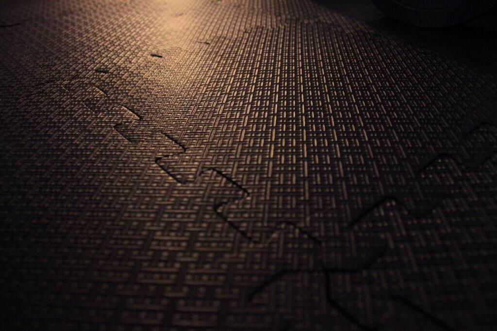 Padded flooring